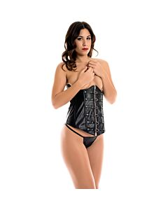 Caramel nuit - set of underbust with thong + suspender