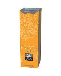 Shiatsu stimulation gel - ginger & cinnamon 30ml