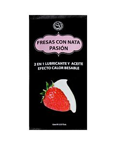 Lube strawberrry with cream 10ml