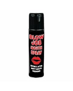 Spencer blow job mouth spray