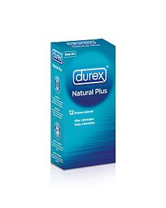 Durex natural plus 12 units