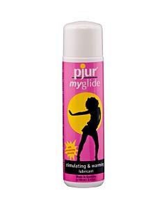 Pjur myglide stimulating and warming lubricant 30 ml