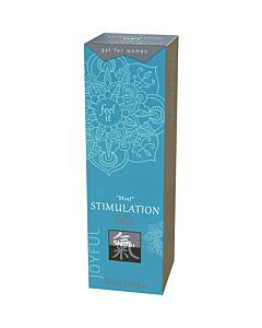 Shiatsu stimulation gel - mint 30ml