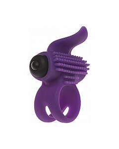 Bullet cock ring - purple