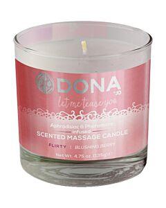 Dona massage candle blushing berry 135 g