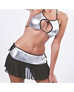 Costume cheerleader grey