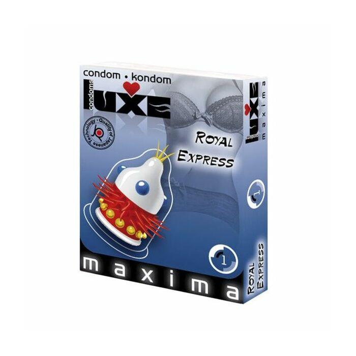 Luxe condom express royal 1pc