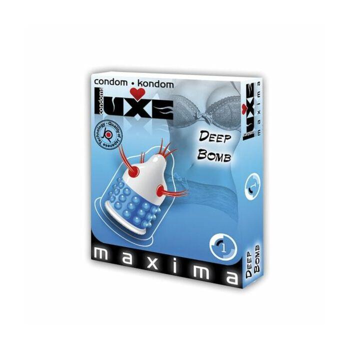 Luxe condoms deep bomb 1ud