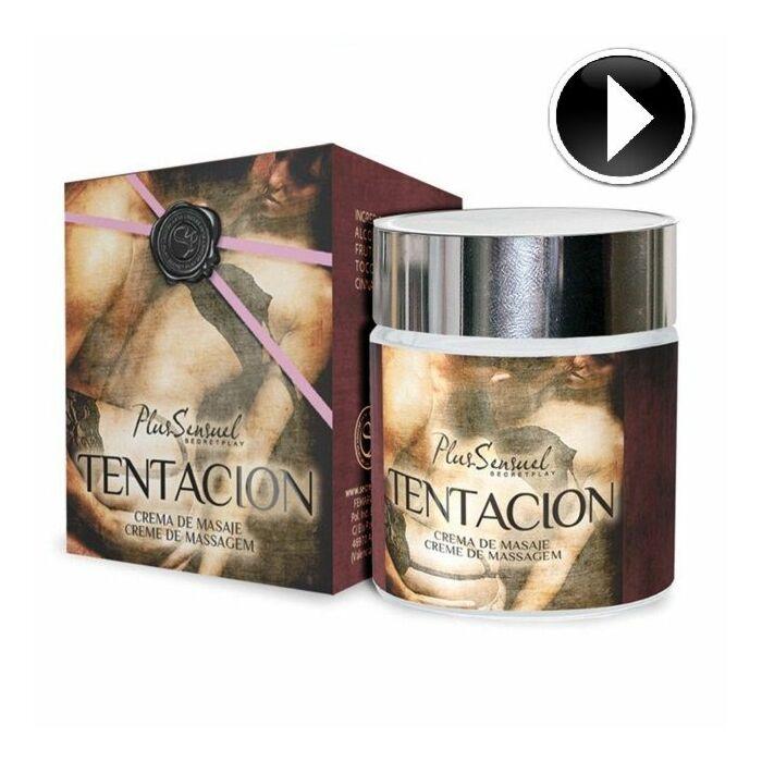 Secret play plus sensual massage cream temptation