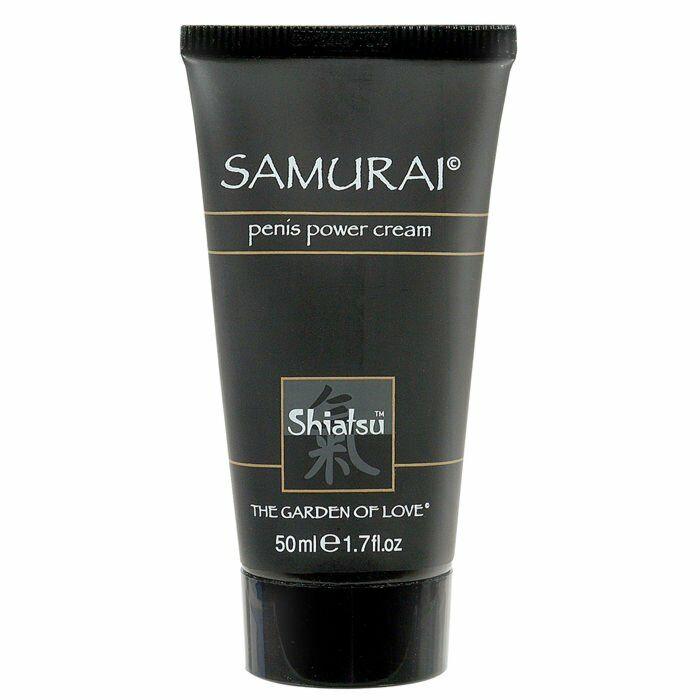 Shiatsu samurai erection enhancer cream